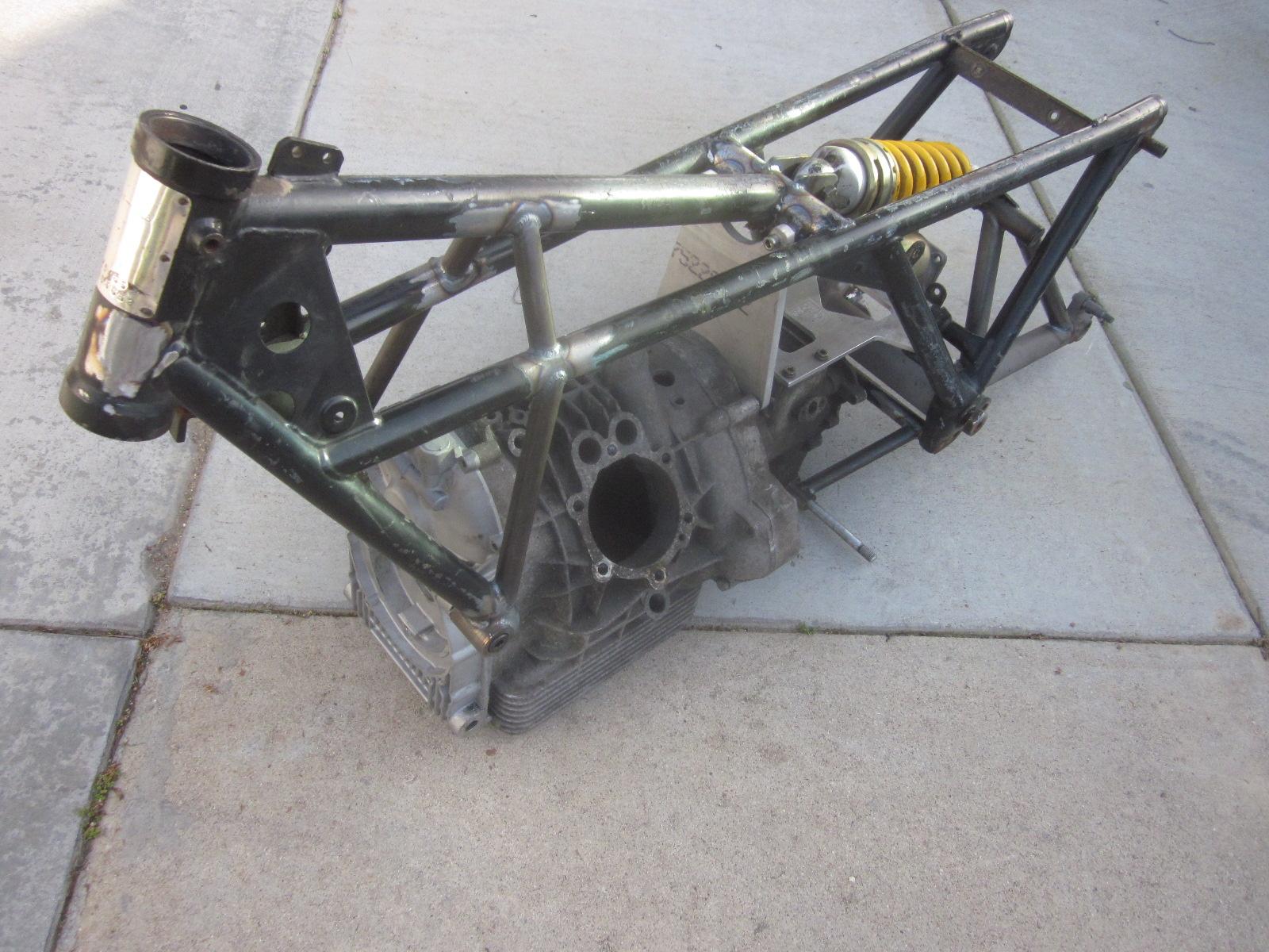 Ducati Motorcycle Frames